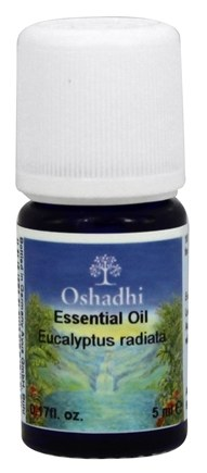DROPPED: Oshadhi - Professional Aromatherapy Wild Eucalyptus Radiata Essential Oil - 5 ml. CLEARANCE PRICED