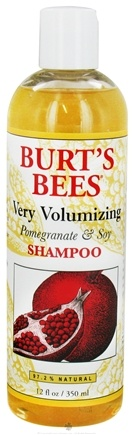 DROPPED: Burt's Bees - Shampoo Very Volumizing Pomegranate & Soy - 12 oz. CLEARANCE PRICED
