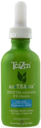 DROPPED: TeaZen - An TEA Ox White Tea Concentrate Honey/Lemon - 2 oz.