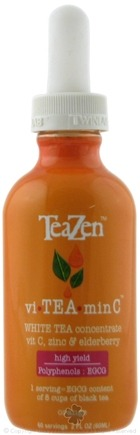 DROPPED: TeaZen - Vi TEA Min C White Tea Concentrate Orange - 2 oz.