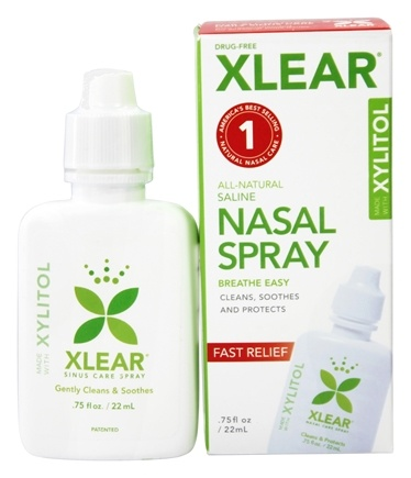 Xlear - Sinus Nasal Spray with Xylitol - 0.75 oz.