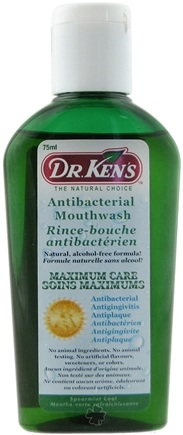 DROPPED: Dr. Ken's - Antibacterial Mouthwash Spearmint - 2.5 oz.