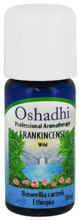 DROPPED: Oshadhi - Professional Aromatherapy Wild Frankincense Essential Oil - 10 ml. CLEARANCED PRICED