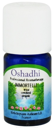 DROPPED: Oshadhi - Professional Aromatherapy Wild Immortelle Certified Organic Essential Oil - 3 ml.