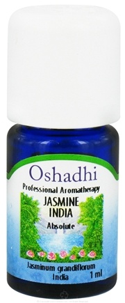 DROPPED: Oshadhi - Professional Aromatherapy Jasmine India Absolute Essential Oil - 1 ml. CLEARANCE PRICED