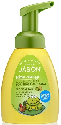 DROPPED: Jason Natural Products - Kids Only Foaming Hand Soap Tropical Twist - 8 oz.