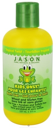 DROPPED: Jason Natural Products - Kids Only Bath Gel Tropical Twist - 8 oz. CLEARANCE PRICED