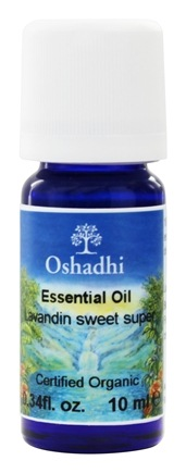 Oshadhi - Professional Aromatherapy Lavender Sweet Lavandin Organic Essential Oil - 10 ml.