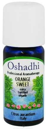 DROPPED: Oshadhi - Professional Aromatherapy Sweet Orange Extra Certified Organic Essential Oil - 10 ml. CLEARANCE PRICED