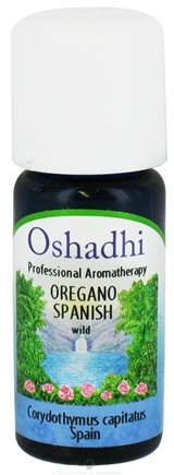 DROPPED: Oshadhi - Professional Aromatherapy Wild Spanish Oregano Essential Oil - 10 ml. CLEARANCE PRICED