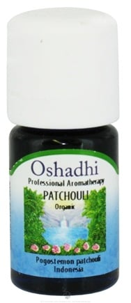 DROPPED: Oshadhi - Professional Aromatherapy Patchouli Organic Essential Oil - 5 ml. CLEARANCE PRICED