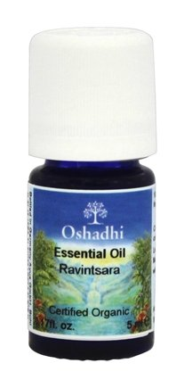DROPPED: Oshadhi - Wild Certified Organic Ravintsara Essential Oil - 5 ml.