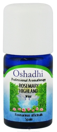DROPPED: Oshadhi - Professional Aromatherapy Wild Highland Rosemary Organic Essential Oil - 5 ml. CLEARANCE PRICED