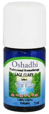 DROPPED: Oshadhi - Professional Aromatherapy Clary Sage Select Essential Oil - 5 ml. CLEARANCE PRICED