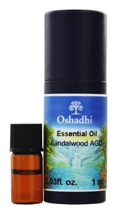 DROPPED: Oshadhi - Professional Aromatherapy Wild Sandalwood AGD Essential Oil - 1 ml.