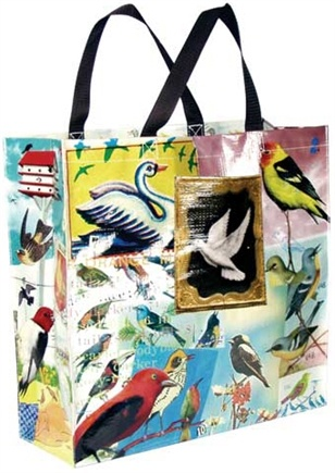 DROPPED: Blue Q - Bird Shopper Bag - CLEARANCE PRICED