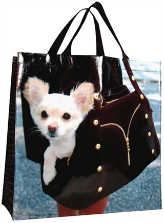 DROPPED: Blue Q - Doggie Shopper Bag - CLEARANCE PRICED