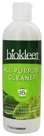 Biokleen - All Purpose Cleaner Concentrate Grapefruit Seed & Orange Peel - 16 oz.