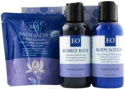 DROPPED: EO Products - Peace French Lavender Gift Set - CLEARANCE PRICED