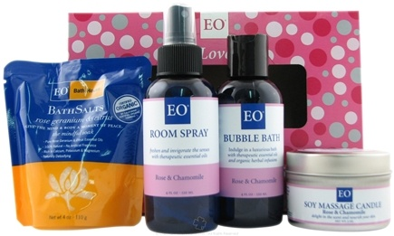 DROPPED: EO Products - Love Rose and Chamomile Gift Set - 1 Gift Set