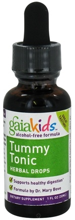 DROPPED: Gaia Herbs - Children Tummy Tonic 30ml - 1 oz. CLEARANCE PRICED