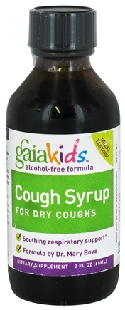 DROPPED: Gaia Herbs - Children Cough Syrup for Dry Coughs - 2 oz. CLEARANCED PRICED