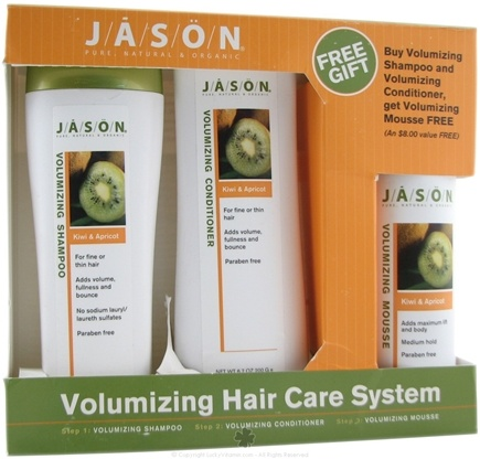 DROPPED: Jason Natural Products - Volumizing Hair Care System