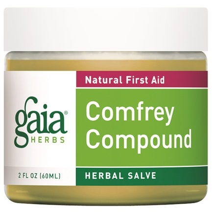 DROPPED: Gaia Herbs - Comfrey Compound 60ml - 2 oz. Formerly Comfrey Componded Salve