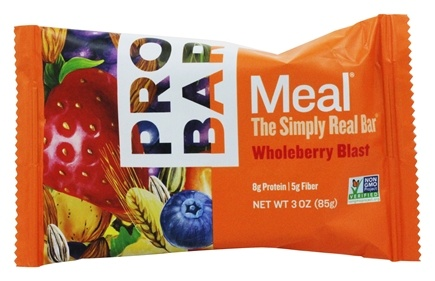 Pro Bar - Whole Food Meal Bar Original Collection Whole Berry Blast - 3 oz.