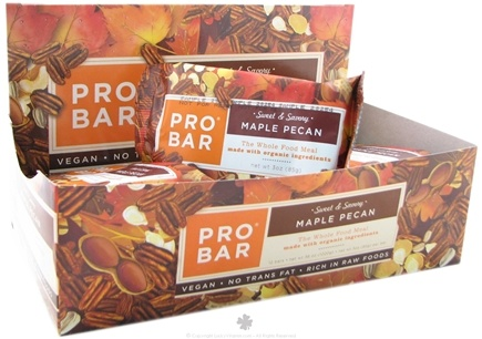 DROPPED: Pro Bar - Whole Food Meal Bar Sweet & Savory Maple Pecan - 3 oz.