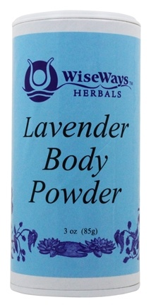 Wise Ways - Body Powder Lavender - 3 oz.