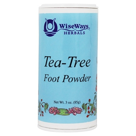 Wise Ways - Tea Tree Foot Powder - 3 oz.