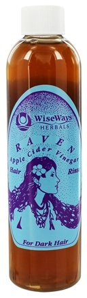 Wise Ways - Raven Apple Cider Vinegar Hair Rinse - 8 oz.