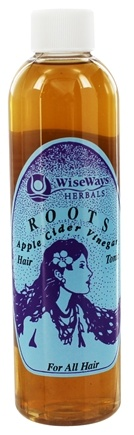 Wise Ways - Roots Hair Tonic Apple Cider Vinegar For All Hair - 8 oz.