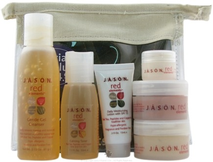 DROPPED: Jason Natural Products - Red Elements Skin Care Set for Normal to Oily Skin