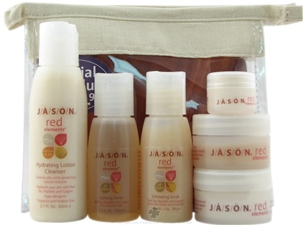 DROPPED: Jason Natural Products - Red Elements Skin Care Set for Normal to Dry Skin