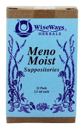 Wise Ways - Meno Moist Suppositories - 12 Pack(s)