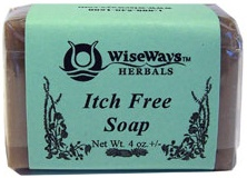 DROPPED: Wise Ways - Itch Free Soap - 4 oz. CLEARANCE PRICED