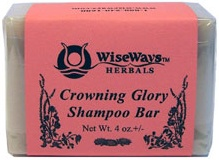 DROPPED: Wise Ways - Crowning Glory Shampoo Bar - 4 oz.