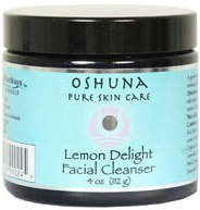 DROPPED: Wise Ways - Oshuna Pure Skin Care Facial Cleanser Lemon Delight - 4 oz. CLEARANCE PRICED
