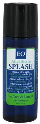 DROPPED: EO Products - After Shave Splash Tea Tree and Lemon - 4 oz.