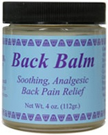DROPPED: Wise Ways - Back Balm Soothing Analgesic Pain Relief - 4 oz. CLEARANCE PRICED