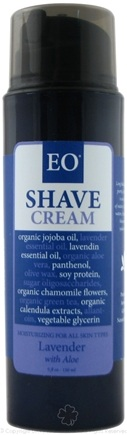 DROPPED: EO Products - Shave Cream Lavender and Aloe - 5 oz.