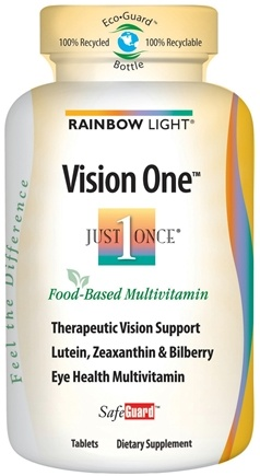 DROPPED: Rainbow Light - Vision One Multivitamin Mineral - 60 Tablets