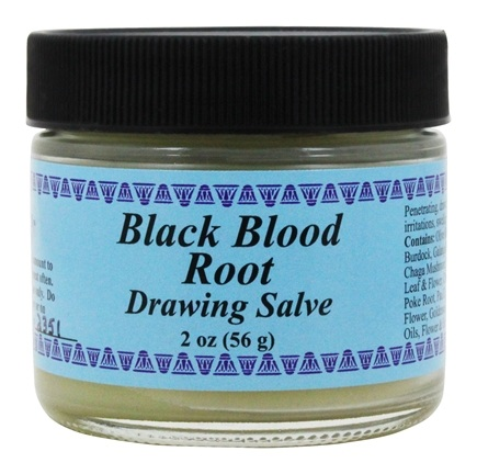 Wise Ways - Black Blood Root Drawing Salve - 2 oz.