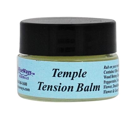 Wise Ways - Tension Balm - 0.25 oz. (formerly Headache Balm)