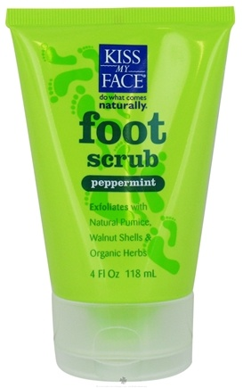 Kiss My Face - Foot Scrub Peppermint - 4 oz.