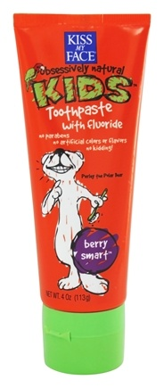 Kiss My Face - Kids Toothpaste with Fluoride Berry Smart - 4 oz.