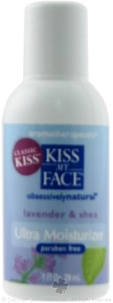 DROPPED: Kiss My Face - Obsessively Natural Ultra Moisturizer Lavender Shea - 1 oz.