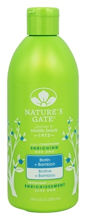 Nature's Gate - Vegan Conditioner Enriching Biotin + Bamboo - 18 oz.